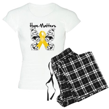 Hope Matters Child Cancer Women's Light Pajamas