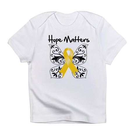 Hope Matters Child Cancer Infant T-Shirt