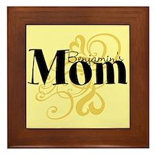Customizable Mom Framed Tile