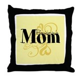 Customizable Mom Throw Pillow