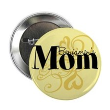 "Customizable Mom 2.25"" Button"