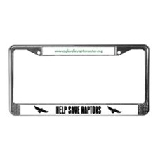 Eagle Valley License Plate Frame