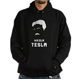 Nikola Tesla Silhouette Hoodie