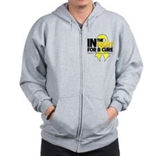 Sarcoma In The Fight Zip Hoodie