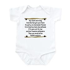 My Aunt Has Got Your Back Infant Bodysuit