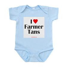 Farmer Tans Infant Creeper