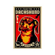Fear the DACHSHUND Magnets (10 pack)