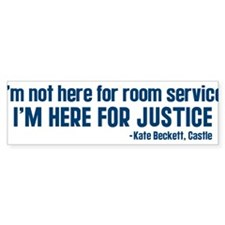 Castle Quote Room Service Sticker (Bumper)
