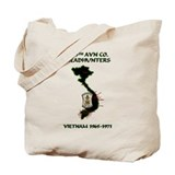 219th AVN CO. HEADHUNTERS Tote Bag