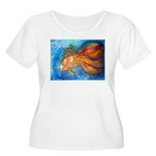 Goldfish, colorful, art, T-Shirt