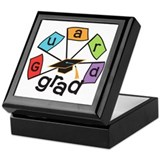 Guard Grad Flags Keepsake Box
