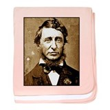 Henry David Thoreau baby blanket