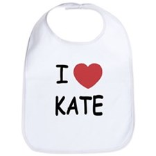 I heart kate Bib