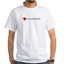 I Love Savannah Shirt