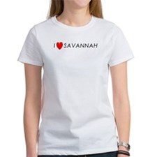 I Love Savannah Tee