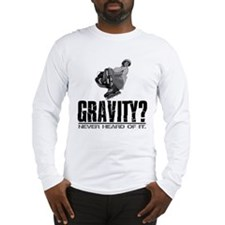 Gravity? Inline Skater Long Sleeve T-Shirt