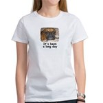 IT'S BEEN A LONG DAY (BOXER LOOK) Women's T-Shirt