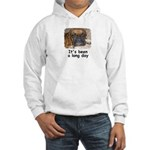 IT'S BEEN A LONG DAY (BOXER LOOK) Hooded Sweatshir