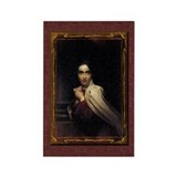 St Teresa of Avila Gothic Rectangle Magnet (100 pa