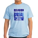 Religion Power & Profit Ash Grey T-Shirt