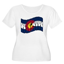 Arapahoe Basin CO Flag T-Shirt