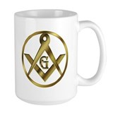 Masonic Golden Circle Mug