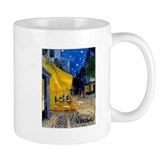 Cafe Terrace at Night Small Mug