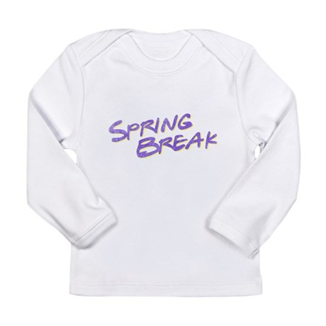 Spring Break Long Sleeve Infant T-Shirt