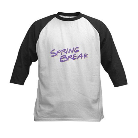 Spring Break Kids Baseball Jersey