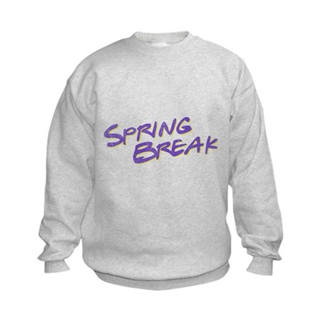 Spring Break Kids Sweatshirt