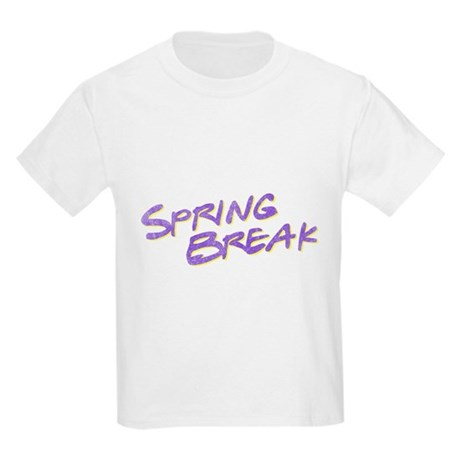 Spring Break Kids Light T-Shirt