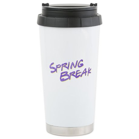 Spring Break Ceramic Travel Mug