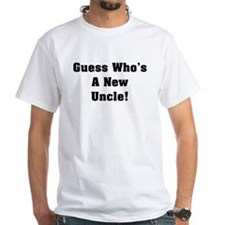 Guess Who's A New Uncle Shirt