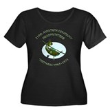 219th Aviation Company women' Women's Plus Size Sc