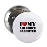 "Air Force Daughter 2.25"" Button (100 pack)"