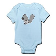 Underpants Squirrel Infant Bodysuit