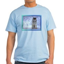 """Wolf In Snow"" T-Shirt"