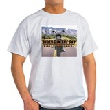 Riders in the Sky - Color Bac Ash Grey T-Shirt