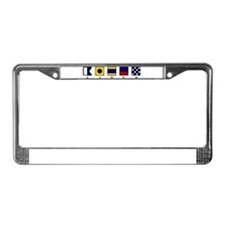 Nautical Aiden License Plate Frame