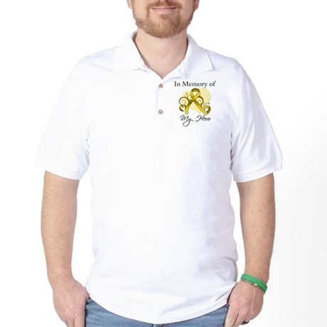 In Memory Childhood Cancer Golf Shirt