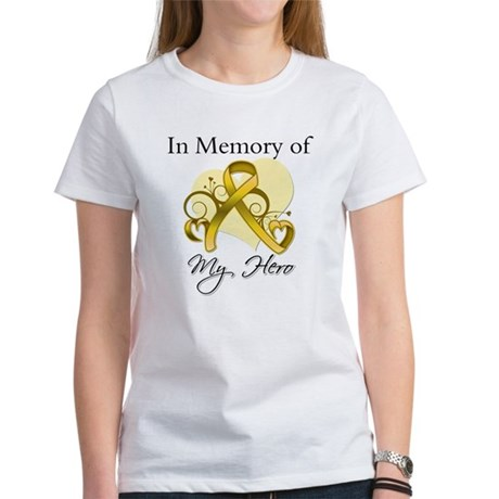 In Memory Childhood Cancer Women's T-Shirt