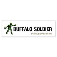Buffalo Soldier bumper sticker