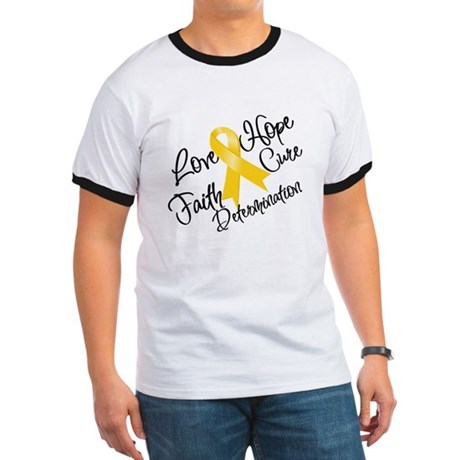 Hope Childhood Cancer Ringer T