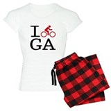 I Bike GA Pajamas