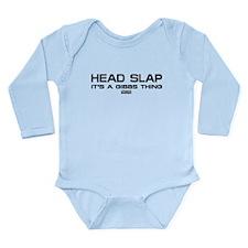 NCIS: Head Slap Long Sleeve Infant Bodysuit
