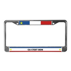 CA C'EST BON License Plate Frame