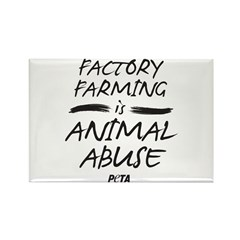 Factory Farming II Rectangle Magnet