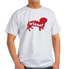 Don't be a wiener -- T-Shirt