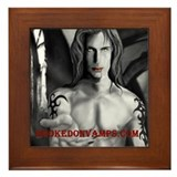 HookedOnVamps (HOV) Framed Tile