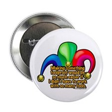 "Foolproof!?!? 2.25"" Button (10 pack)"
